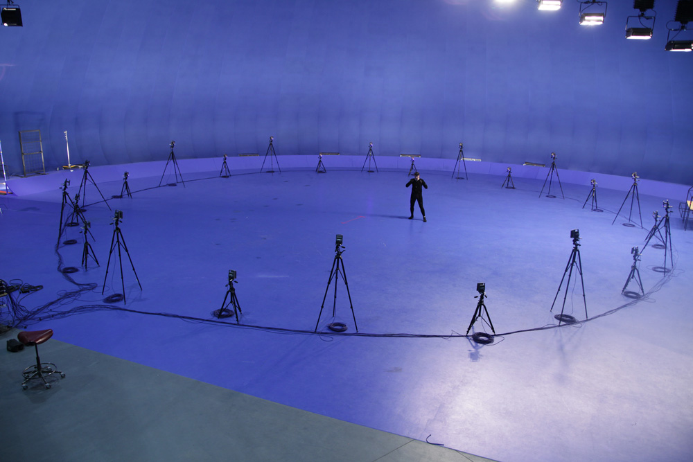Motion Capture Alvernia Studios
